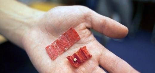 Создан робот-оригами для работы внутри тела человека