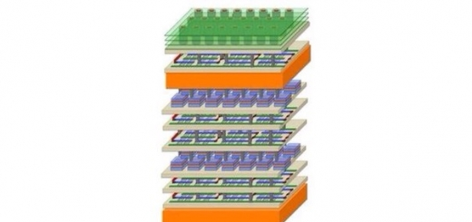 Создан компьютерный чип с многоэтажной архитектурой