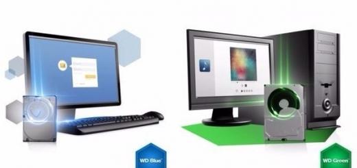 Western Digital объединяет линейки накопителей WD Green и WD Blue