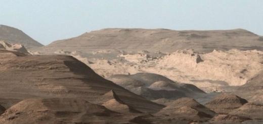 Марсианский кратер Гейла когда-то был большим озером