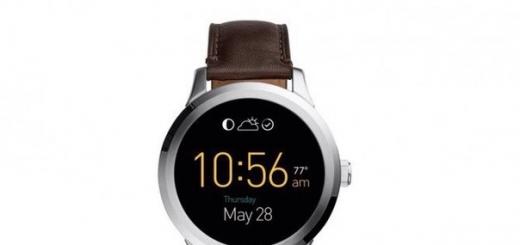 Производитель традиционных часов Fossil представил свою первую умную модель на Android Wear