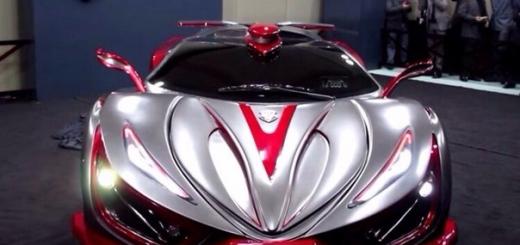 Мексиканско-итальянский суперкар Inferno Exotic Car развивает 1400 «лошадей»
