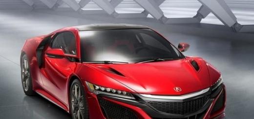 Acura наконец-то рассекретила характеристики суперкара NSX