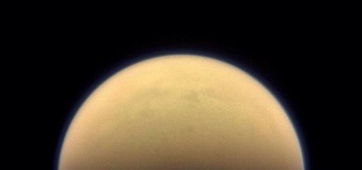 «Кассини» обнаруживает на Титане гигантское ледяное облако