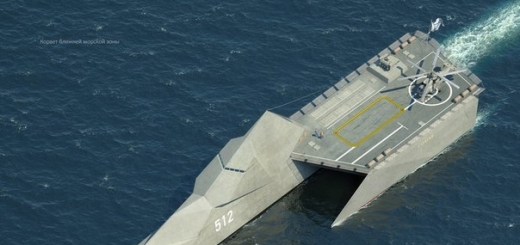 Новый российский корвет-тримаран сможет вести бой при 6 баллах волнения