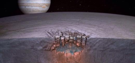 Европейские астрономы собираются исследовать спутник Юпитера с помощью зонда-снаряда