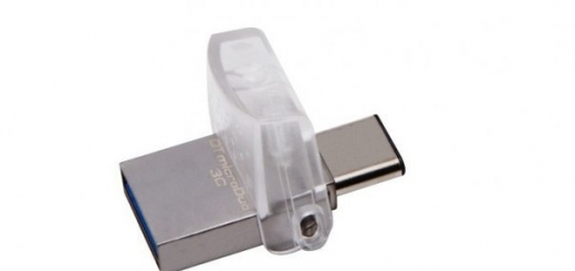 Флэш-накопитель Kingston DataTraveler microDuo 3C имеет два разъема USB: Type-A и Type-C