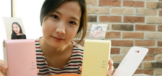 Карманный фотопринтер от LG