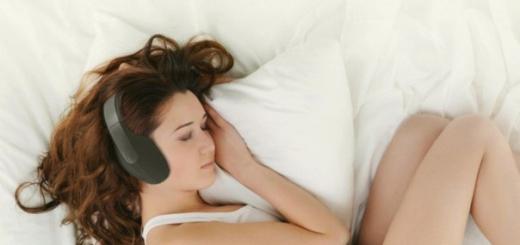 Созданы наушники улучшающие качество сна