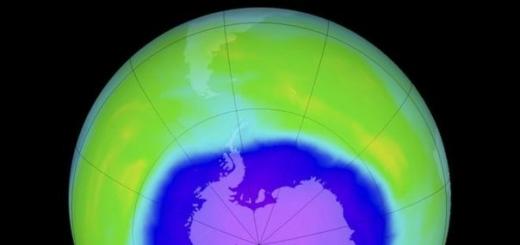 Озоновая дыра затягивается и может исчезнуть к 2050 году