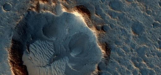 НАСА показало место посадки миссии Ares 3 из фильма «Марсианин»