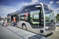 В Амстердаме представили беспилотный автобус Mercedes-Benz с системой автоматического вождения CityPilot