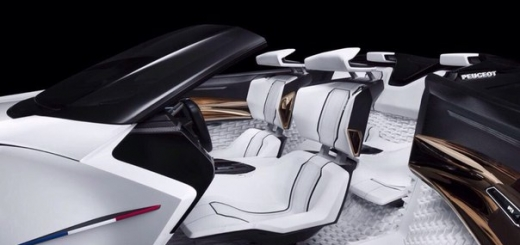 Peugeot Fractal – авто до мурашек