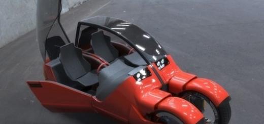 В Нью-Йорке представили уникальный автомобиль-трансформер