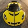 «Заряженный» гиперкар Hennessey Venom GT развивает почти 1500 л. с.