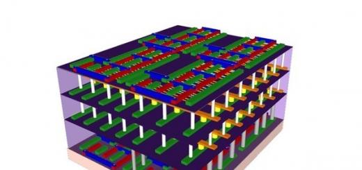 3D- компьютерные чипы будут в тысячу раз производительней обычных