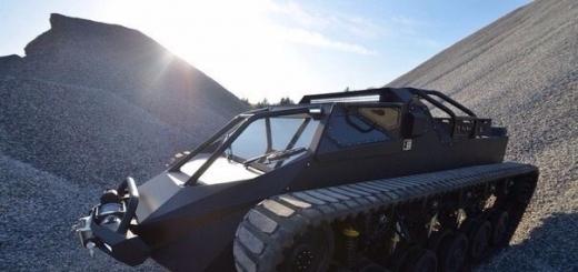 Гражданский танк поступит в продажу в следующем году