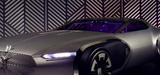 Renault показала оригинальный концепт-кар Coupe Corbusier