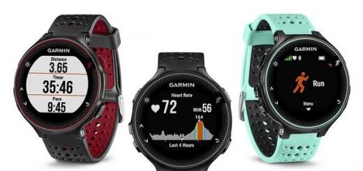 Garmin Forerunner 235 — монитор активности для бегунов с датчиком ЧСС и модулем GPS