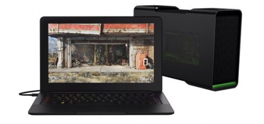 Ноутбук Razer Blade Stealth позволяет подключить док-станцию Core с установленной в ней настольной видеокартой