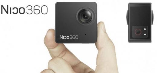 Разработчики называют Nico360 самой маленькой в мире камерой для съемки сферических панорам