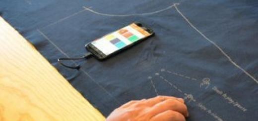 Google патентует интерактивный текстиль
