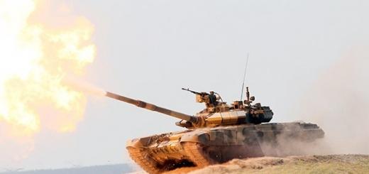 Рособоронэкспорт назвал Т-90МС лучшим танком мира