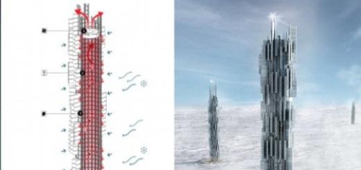 Data Tower — проект экологически чистого небоскреба-датацентра