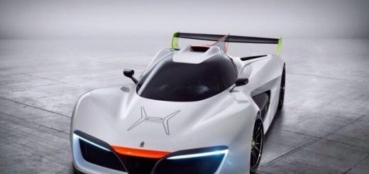 Pininfarina H2 Speed: спортивный концепт-кар на топливных элементах