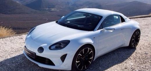 Renault Alpine Vision: предвестник серийного спорт-купе