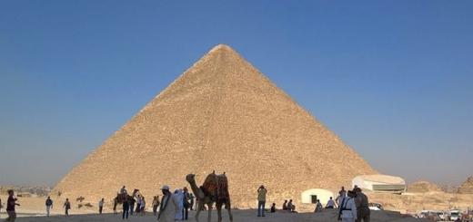 Ученые сканируют египетские пирамиды с помощью космических частиц