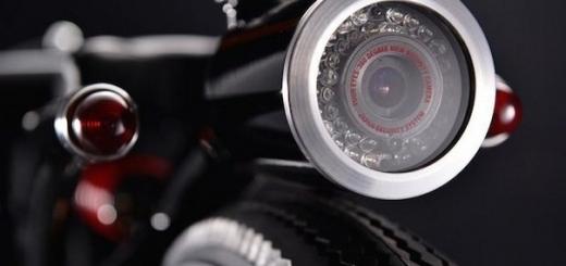 Мотоцикл для скрытого видеонаблюдения