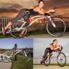 Велосипед Bird of Prey занимает новое положение при езде