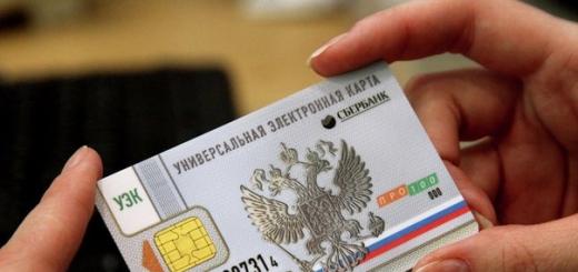 На основе УЭК будет создан электронный российский паспорт