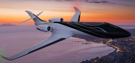 Концепт «прозрачного» самолёта, в котором нет ни одного иллюминатора.
