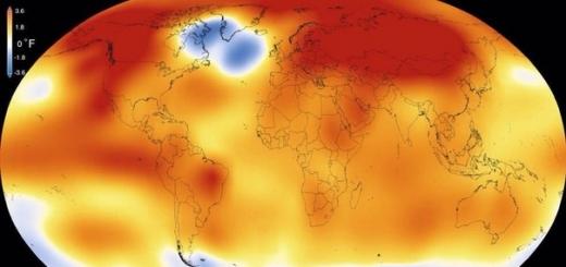 #NASA назвало 2015 год самым жарким за всю историю наблюдений
