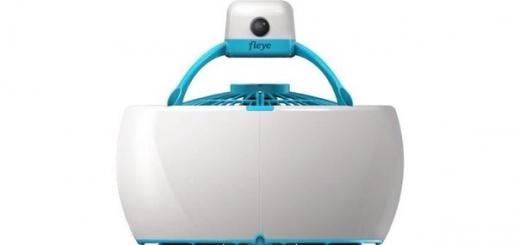 Автономный летающий робот Fleye