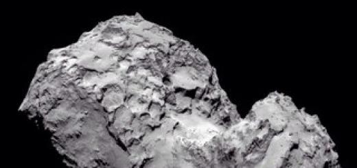 Комета 67P, вероятно, была сформирована из двух отдельных объектов
