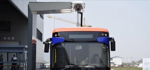 Рекордное время зарядки электроавтобуса — 10 секунд