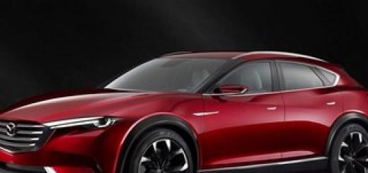 Mazda представила концептуальный кроссовер Koeru.