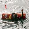 Маленький робот EMILY спасает людей, потерпевших кораблекрушение