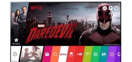 Умные телевизоры LG обеспечат поддержку потокового видео от Netflix в 4K-качестве с поддержкой HDR