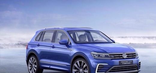 Гибрид VW Tiguan GTE расходует менее 2 л топлива на 100 км