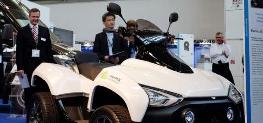 Acer представила электроквадроцикл